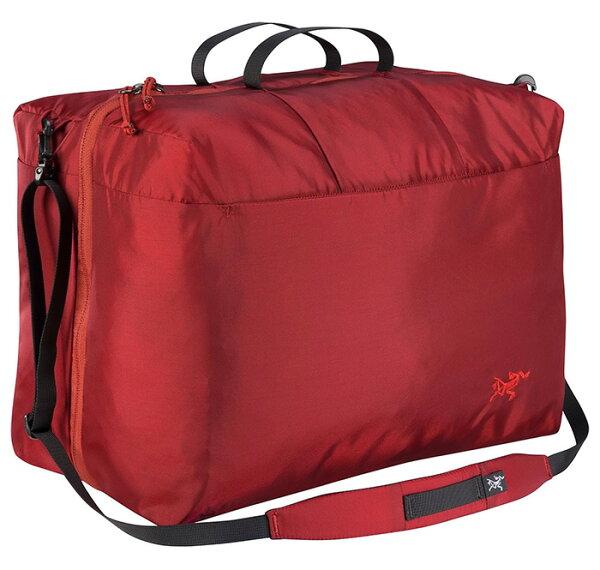 【ARCTERYX始祖鳥加拿大】INDEX10+10旅行收納包旅遊打理包旅行袋衣物打理包紅海灘(L07016000)【容量20L】