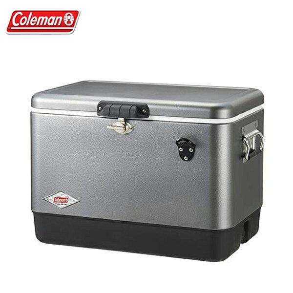 【露營趣】ColemanCM-0134351L銀翼經典鋼甲冰箱行動冰箱冰桶露營冰桶野餐露營野營