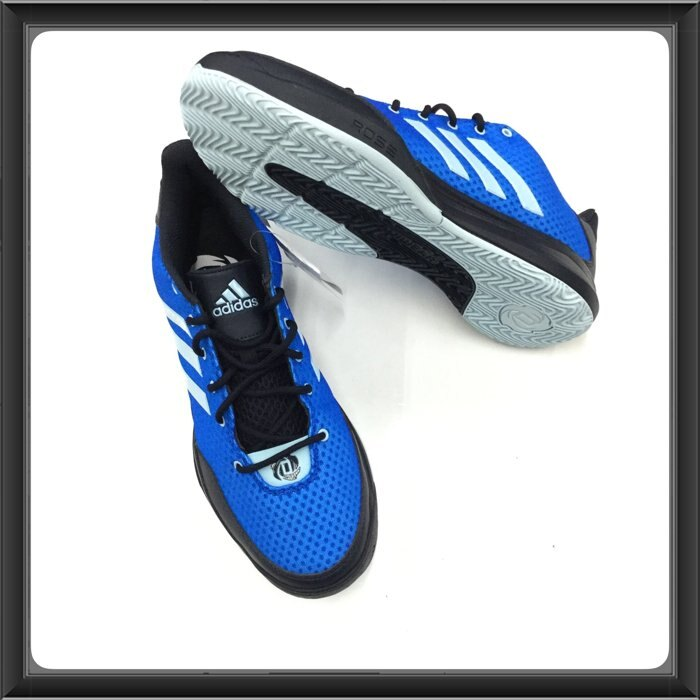 ※555鞋※ adidas D Rose 籃球鞋 止滑吸震 藍色 現貨供應中 免運