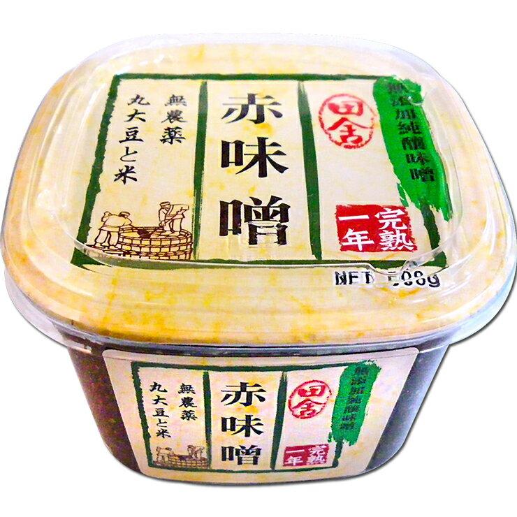 【味榮】田舍赤味噌500g - 限時優惠好康折扣