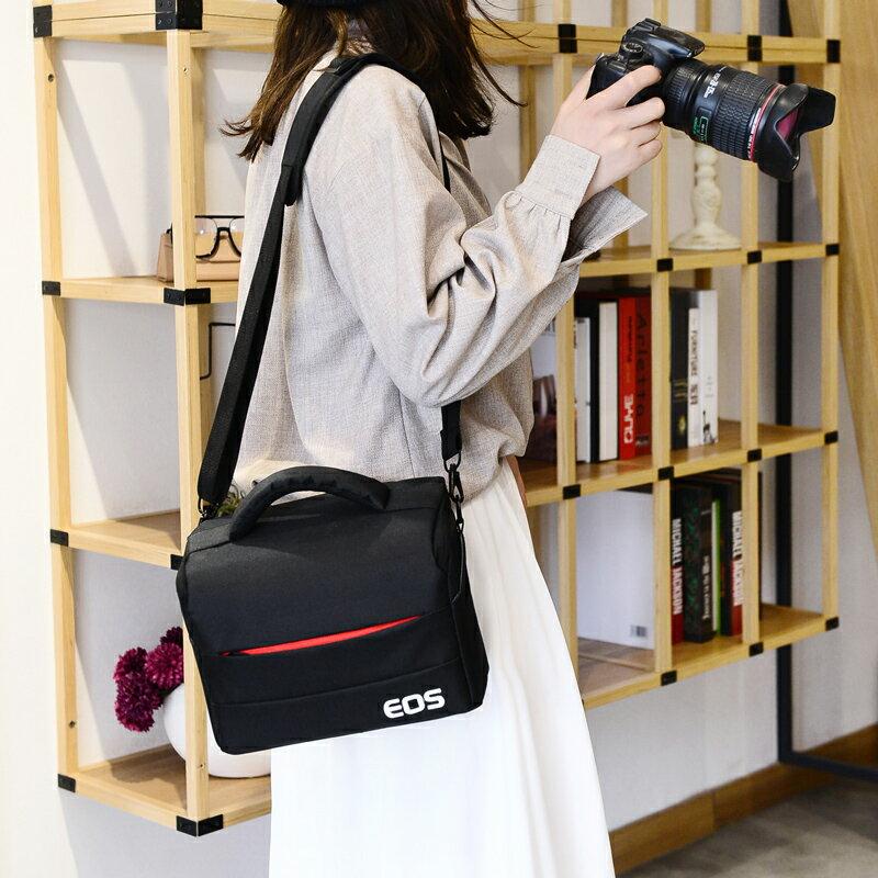 佳能相機包單反包單肩攝影包200D800 免運