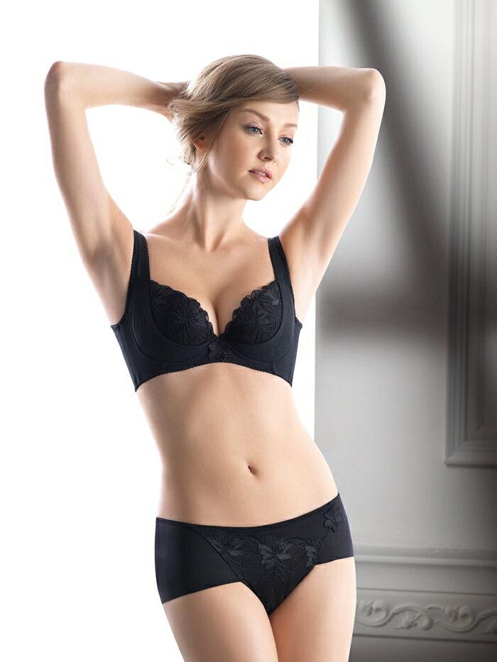 LADY 安布羅莎系列 機能調整型 G罩內衣(魅惑黑)