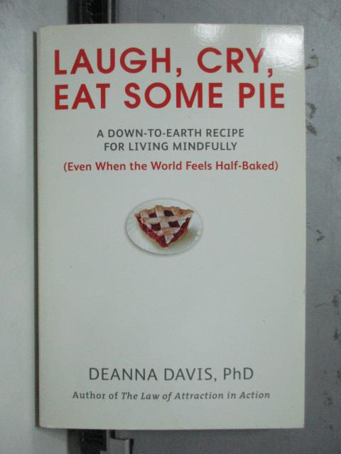 ~書寶 書T4/原文書_ODJ~Laugh Cry Eat Some Pie_Deanna