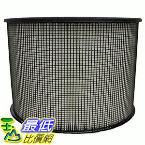 """[106美國直購] Crucial Air Filter Fits All Filter Queen Defender Air Cleaners using 8"""" tall filters, incl.."""