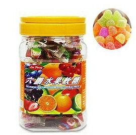 【悅兒樂婦幼用品?】六鵬 水果軟糖100公克