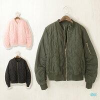 飛行外套推薦到viNvi Lady 立體剪裁菱格棒球外套 飛行夾克 舖棉外套就在viNvi Lady推薦飛行外套