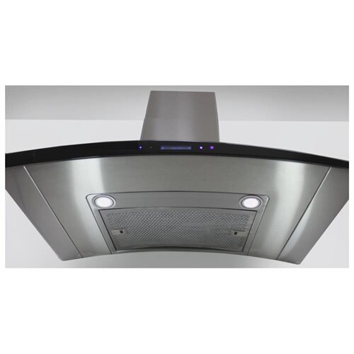 "AKDY New 36"" European Style Wall Mount Stainless Steel Range Hood Vent Touch Control AK-198KN3 36"" 3"