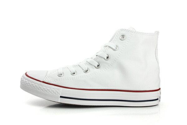 CONVERSE ALL STAR HIGH 帆布鞋 白 男女款 M7650C no989 5