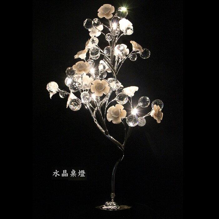 【尚品傢俱】138-01 亞特 水晶桌燈~另有立燈、壁燈、吊燈/Lamp/造型燈/小夜燈/藝術燈/美術燈/情趣燈