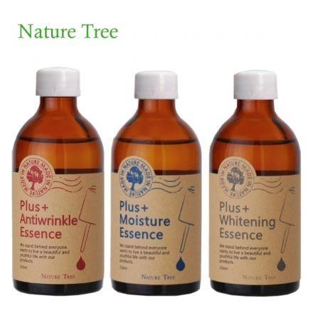 Nature Tree 保濕濃縮精華液 250Ml(美白或抗皺亦可)+金盞花全效多元精華霜30ml 【淨妍美肌】