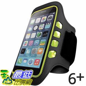 [106美國直購] iPhone 手臂帶含LED燈 Iphone 6 PLUS and 6S PLUS Armband Best for Running Sports and Workout