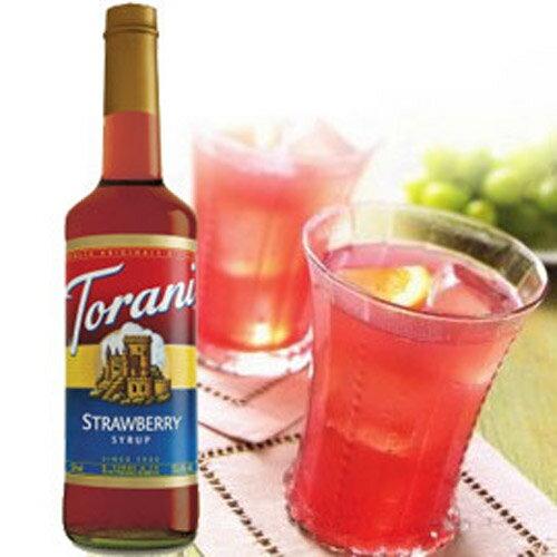 草莓糖漿果露 Torani-美國特朗尼 750ml/罐--【良鎂咖啡精品館】