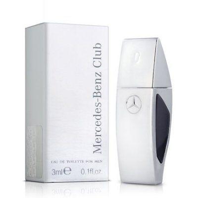 香水1986☆Mercedes Benz 賓士銀色風潮男性淡香水迷你小香5ML 香水分裝瓶