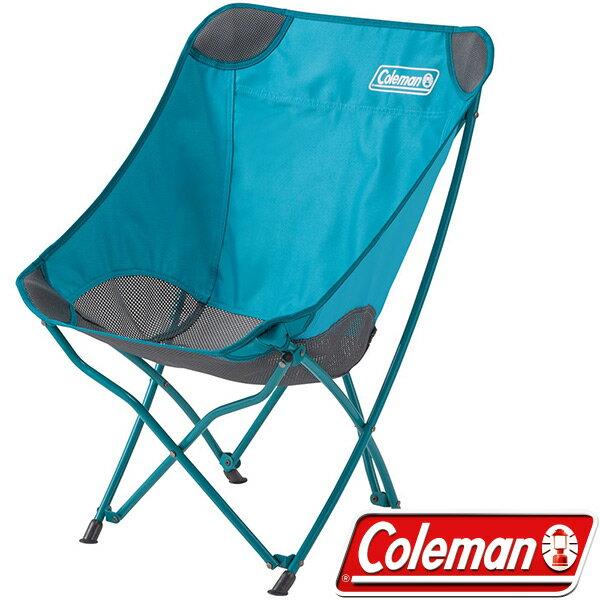Coleman 美國 | 包覆型休閒療癒椅 水藍 杏黃 | 秀山莊(CM-23503,CM-23504)