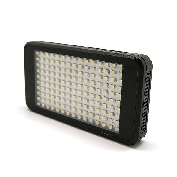 【新風尚潮流】ROWA 內建鋰電池 LED攝影燈 150顆燈 免外接電池 可用行動電源充電 VL011