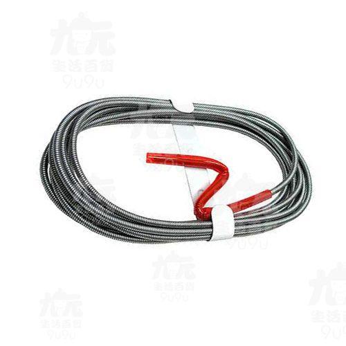 【九元生活百貨】15呎簡易式手搖通管條通水管通馬桶