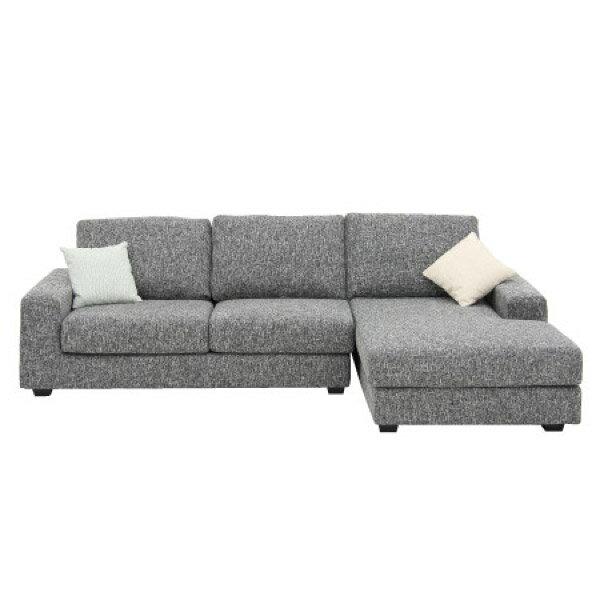 ◎布質左躺椅L型沙發 GRAND LGY NITORI宜得利家居 1