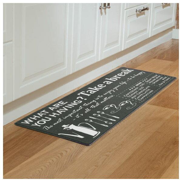 PVC廚房地墊LETTERGY45×120NITORI宜得利家居