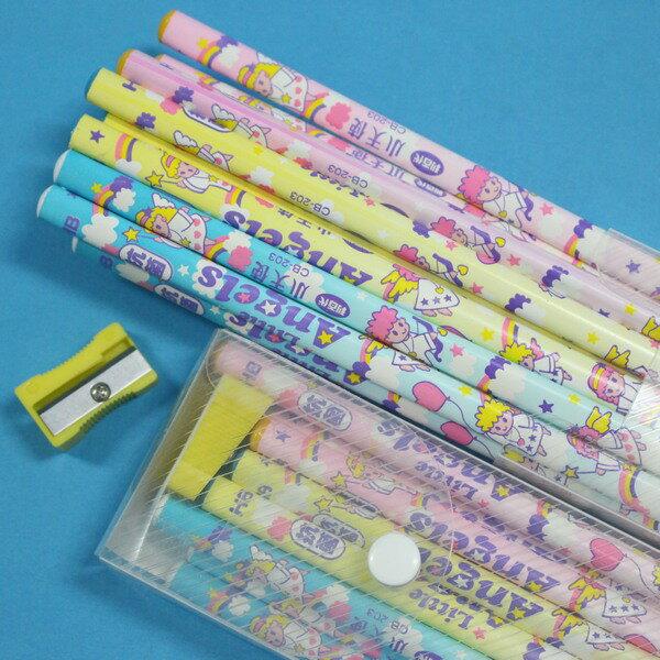 利百代抗菌鉛筆 CB~203 抗菌三角形鉛筆 附筆削HB 一箱12小盒入^(一小盒12支^