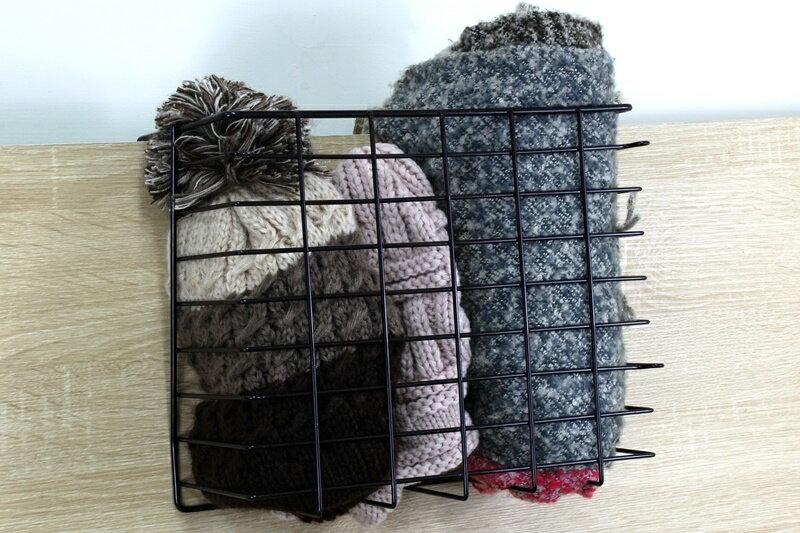 【凱樂絲】媽咪好幫手DIY櫃子鐵線收納籃(吊架式) - 小型, 垂直空間利用-組合式  廚房, 浴室, 客廳, 衣櫃, 櫥櫃適用 2