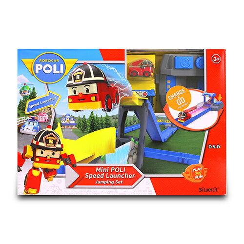 《POLI波力》迷你波力特技軌道系列-飛越橋墩組