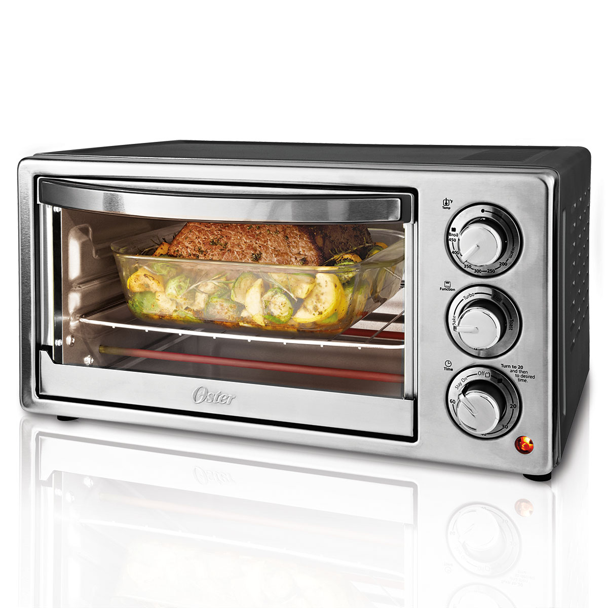 Oster 6-Slice Convection Toaster Oven TSSTTVF817