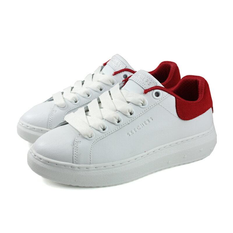 HUMAN PEACE SKECHERS LOS ANGELES 運動鞋 女鞋 白/ 紅 73696WRD no082