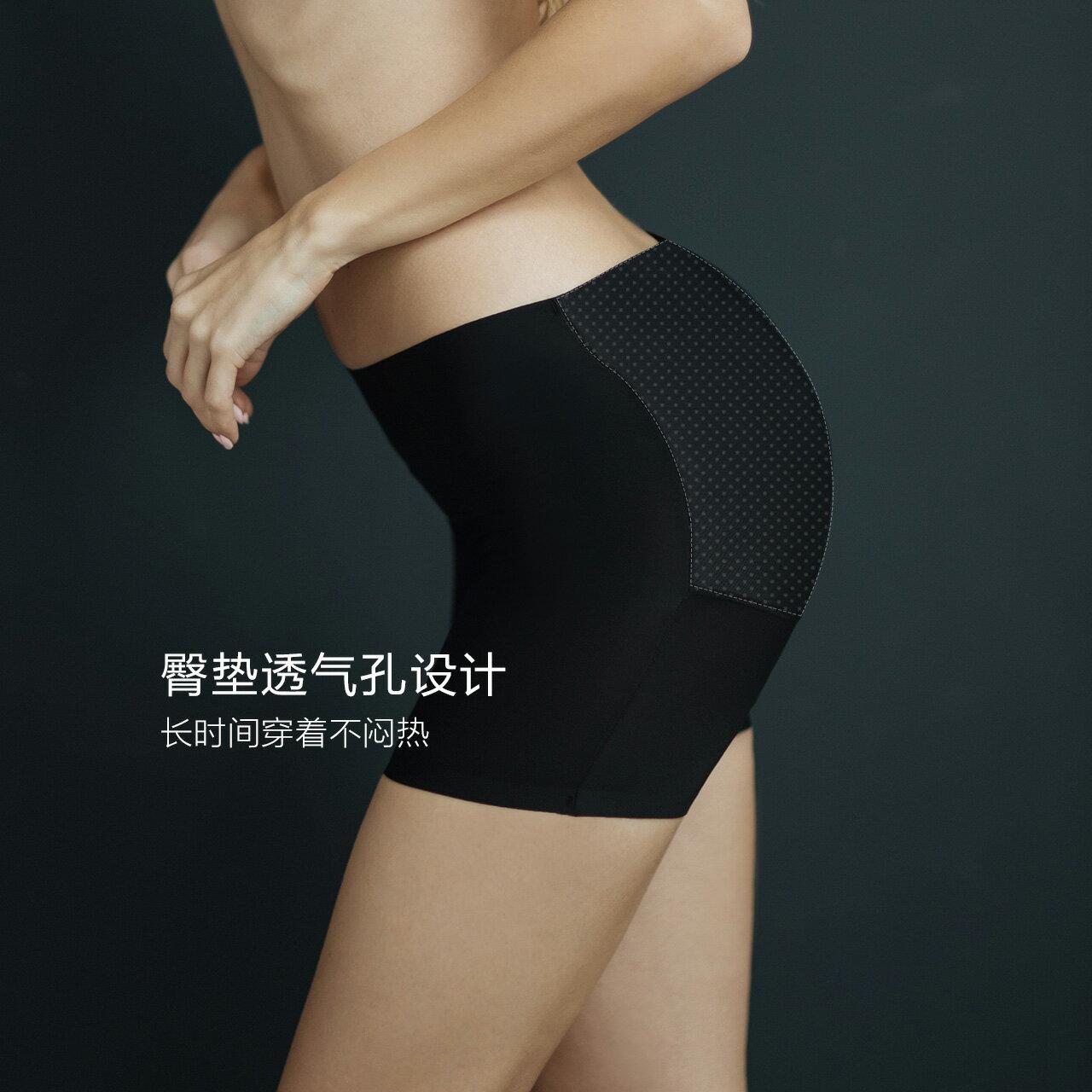 自然薄款假屁股內褲女蜜桃豐臀提 貼身衣物不可退換貨