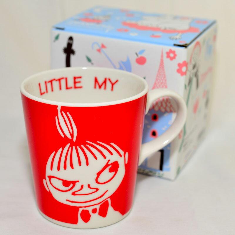 MOOMIN 嚕嚕米 小不點亞美 陶瓷 馬克杯 咖啡杯 正版 日本製 Little My
