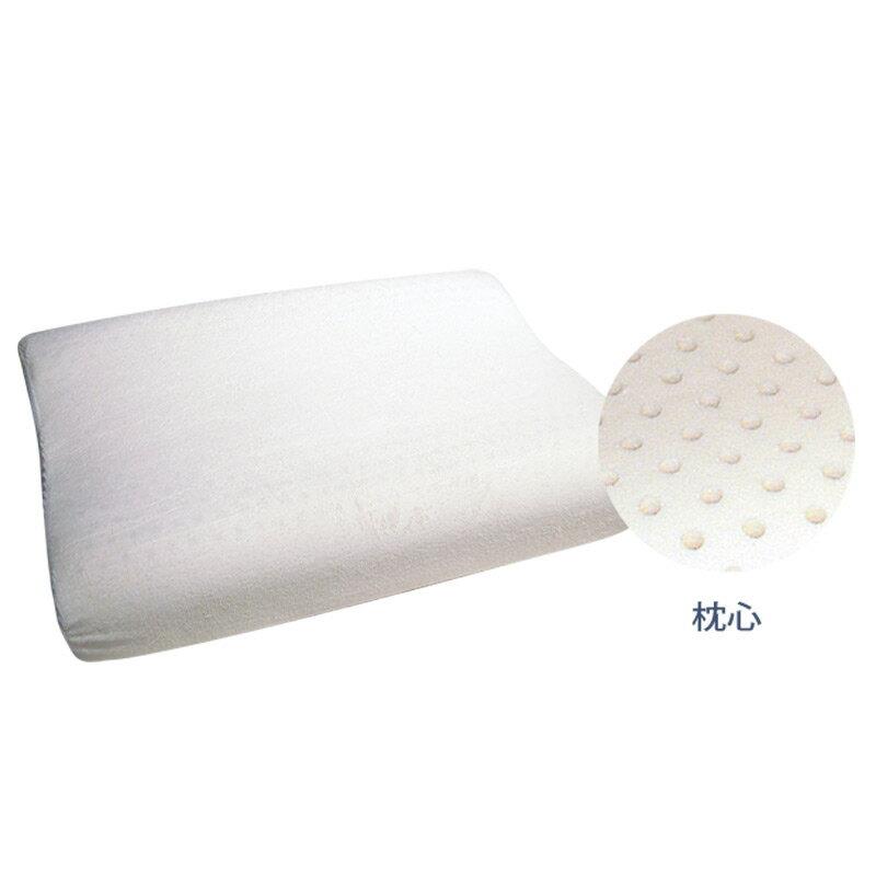 【乳膠枕-人體工學型】美國Ever Soft防蹣寢具 枕頭 舒適 透氣 抗菌 5217SHOPPING