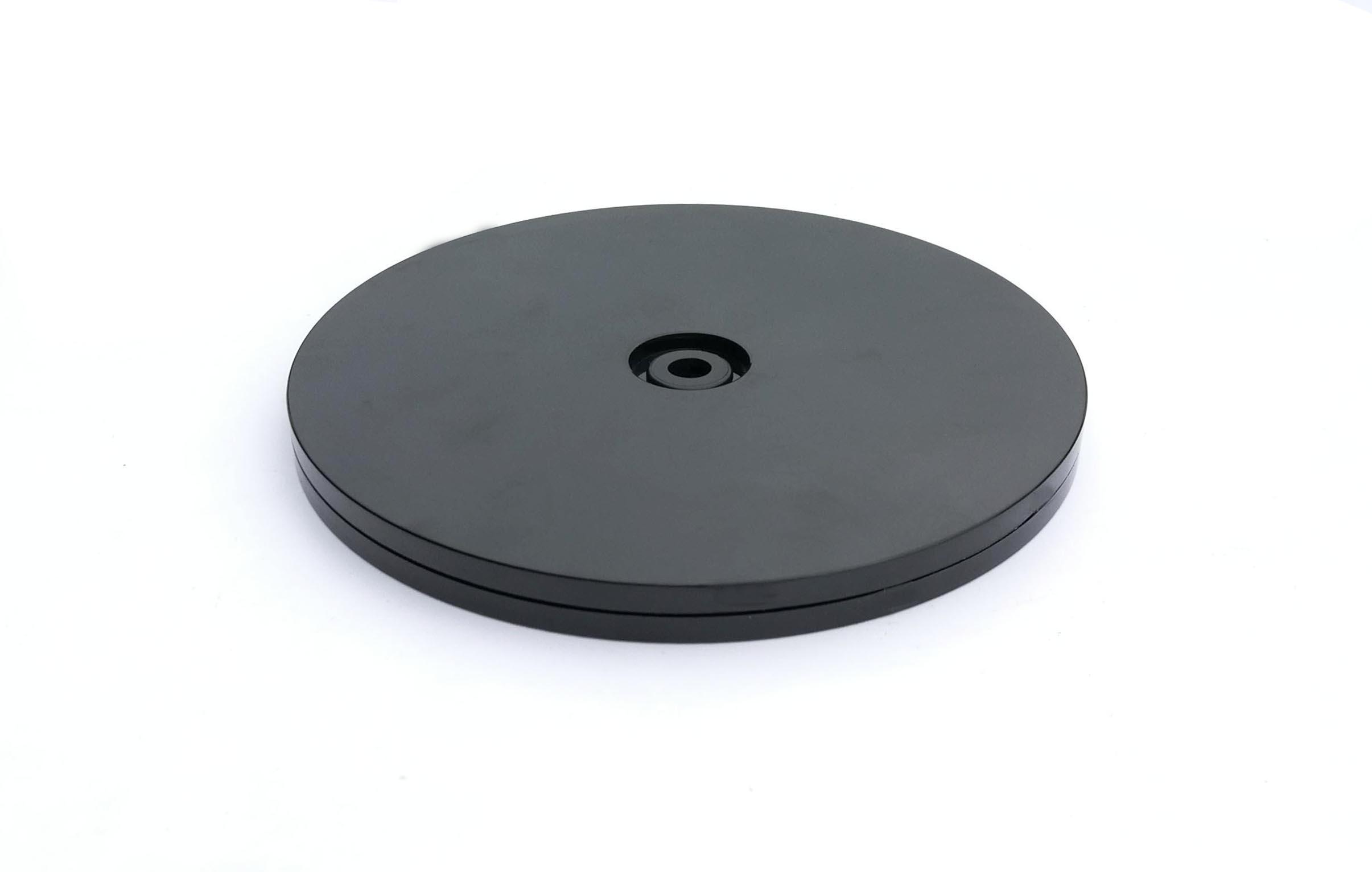 Fixturedisplays 8 Black Plastic Spinner Lazy Susan Turntable Organizer For E Rack Table Cake Kitchen