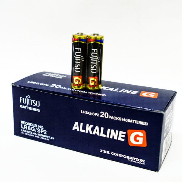 【 LR6G】FUJITSU 富士通 大電流3號AA鹼性電池1盒40顆 (環保包裝) LR6G