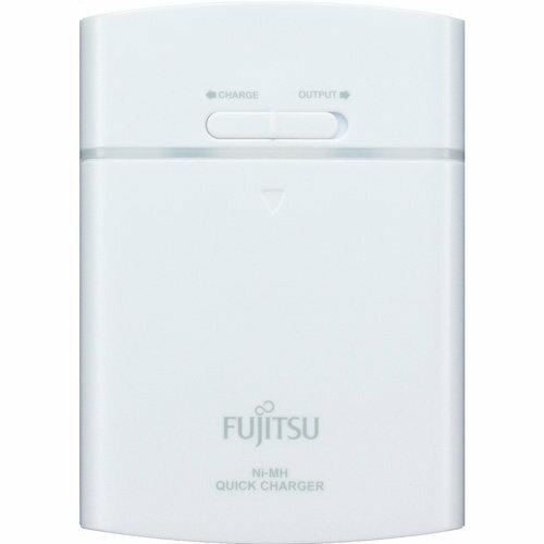 【FSC342FX-W】Fujitsu 富士通 充電電池 FSC342FX-W 3號充電電池4入+充電器(白色)