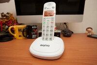 三洋 SANYO 數位 中文無線電話 耳麥 話筒