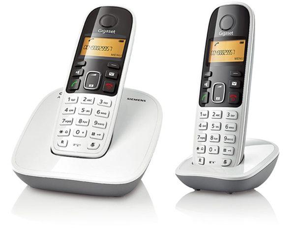 【機身發黃】西門子 SIEMENS Gigaset A490 DUO DECT數位無線電話《 福利品》