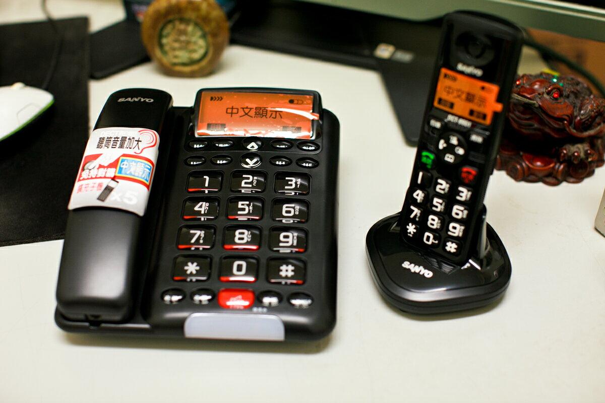 【CLT-1688】《福利品小刮傷》三洋SANYO CLT-1688 中文DECT數位子母機電話
