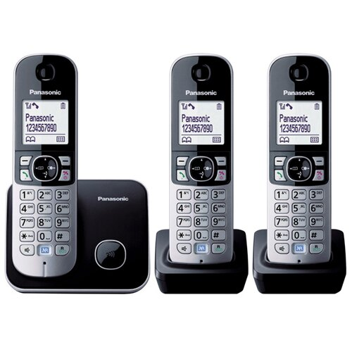 【TG6813】平行輸入 Panasonic KX-TG6813 DECT 中文顯示無線電話 (多國語言版)