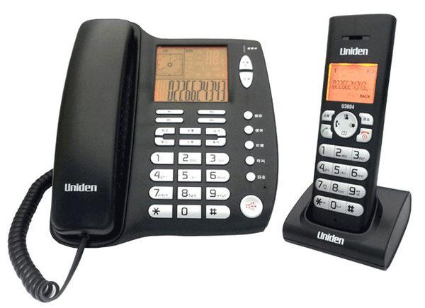 【U3604】Uniden友利電 U3604 DECT數位無線電話 福利品小刮傷
