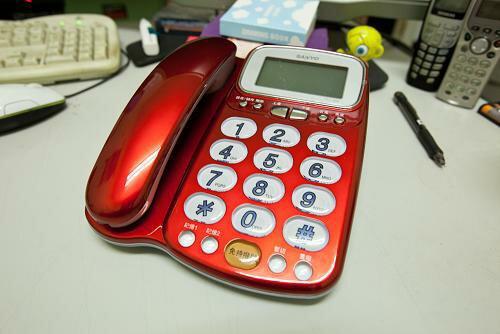 【TEL-986】全新 三洋 SANYO TEL-986 來電顯示有線電話 受話增音 - 助聽功能