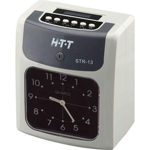 【STR-13】HTT 六欄位打卡鐘 STR-13 (送卡紙100張+電子計時器)