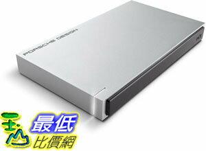 [106美國直購] 移動硬碟 LaCie Porsche Design USB 3.0 1TB Mobile Hard Drive (STET1000400)