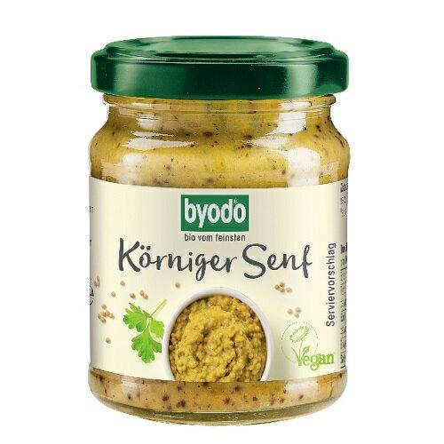 即期品 Byodo 有機芥末醬粗顆粒 125ml/罐 效期至2021.06.28