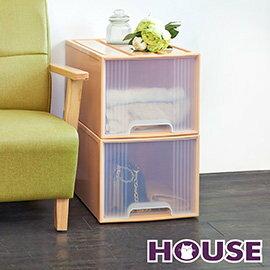 【nicegoods】大桔子收納置物箱(65L) 2入組(收納櫃 抽屜櫃 衣櫃 塑膠 整理箱)
