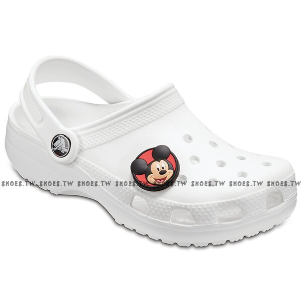 Shoestw CROCS 鞋扣 裝飾鞋扣 布希鞋裝飾 米奇 米妮 M蝴蝶結 麥昆 蜘蛛人 6