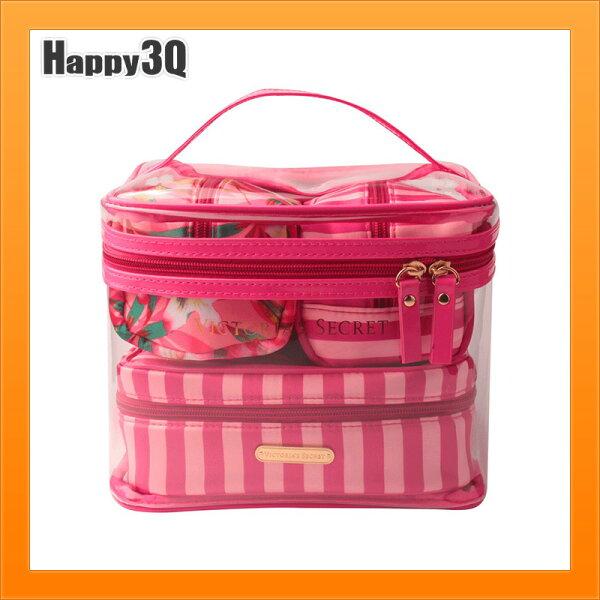 透明PVC包三件套小物包四件套化妝品包飾品包刷具包旅行包-多款【AAA4559】