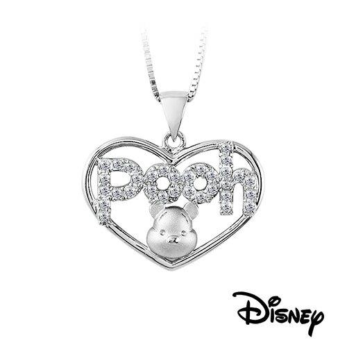 迪士尼愛星維尼純銀項鍊