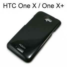 【ROCK】輕彩保護殼/硬殼 [黑] HTC One X S720E/One X+ S728E