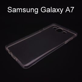 超薄透明軟殼 ^~透明^~ Samsung A700Y Galaxy A7 ~  好康折扣
