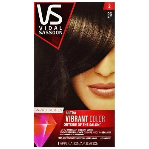Vidal Sassoon Pro Series Hair Color 2 Black (2 PACK) 8a554e11b8591b91b1f50f960e12e01b
