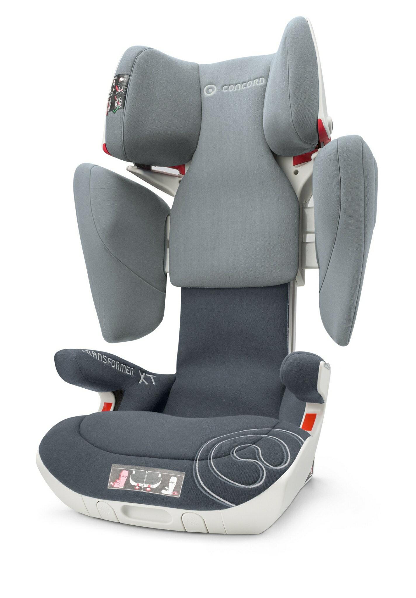 德國【CONCORD】 Transformer XT汽車安全座椅(灰) 0